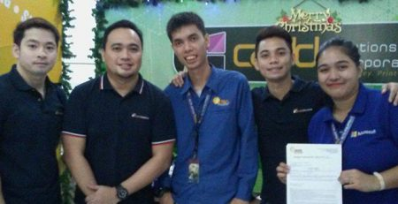 Contract Signing with Alta Philippines team and Cad Solutions Incorporated.