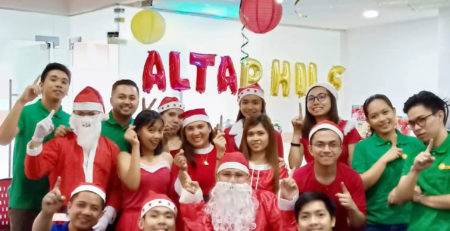 alta philippines thanksgiving party