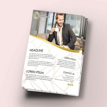 Corporate Branding-Flyer