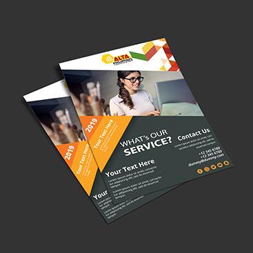 Corporate Branding Flyer